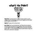 What's the Point? Step 1 Review Decoding Game
