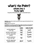 What's the Point? Step 2 Review Decoding Game