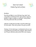 What's the Problem- Problem Solving Sort Station