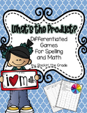 Differentiated Math and Spelling Station- What's the Product?