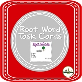 Root Words or Base Words Task Cards