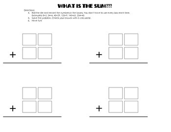 What's the Sum?
