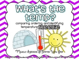 What's the Temp? FREEBIE {identifying, comparing and ordering temperatures}
