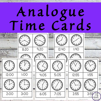 What's the Time? Cards