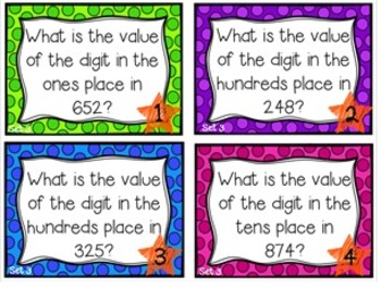What's the Value?  Level 1 Hundred, Tens, & Ones