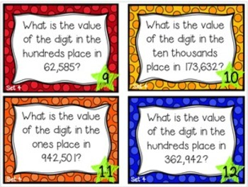 What's the Value?  Level 2 Thousands, Hundreds, Tens, & Ones