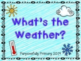 WEATHER: What's the Weather?
