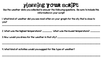What's the Weather? A Project Based Learning Experience