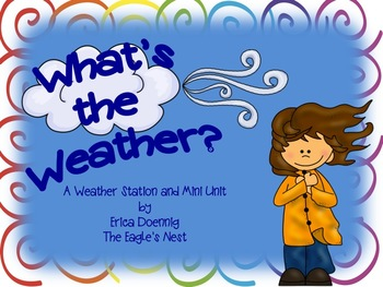 What's the Weather?  A Weather Station and Mini Unit