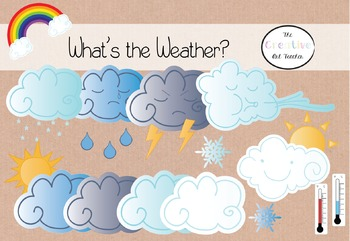 What's the Weather? Clipart Set
