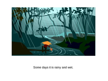 What's the Weather Like Today? book (simplified version)