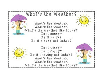 What's the Weather Song