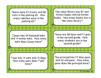 What's the Word? Second Grade  (classification of word problems)