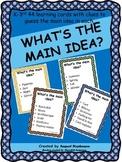 What's the main idea