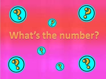 Whats the number?