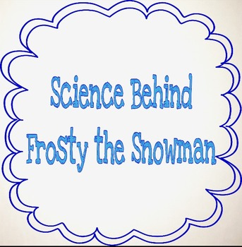 What's the science behind Frosty and snowflakes?