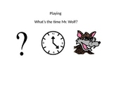 Whats the time mr wolf social story