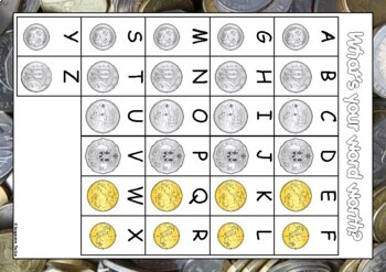 What's your word worth? (Australian coins)