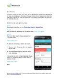 WhatsDue Parent Letter {Editable}