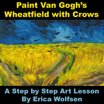 Wheatfield with Crows after Vincent van Gogh