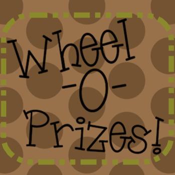 Wheel-O-Prizes!!  *** Motivation and Rewards *** Smartboard