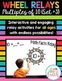 Wheel Relays - Rainbow Math Set #3