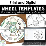 Wheel Templates (Memory Wheels)