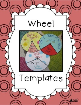 Wheel Templates - Perfect for Any Subject!