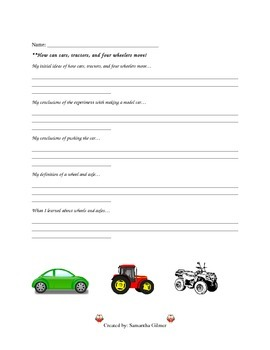 Wheel and Axle Lesson Plan