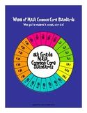 Wheel of 5th Grade Math Common Core Standards