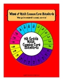 Wheel of 7th Grade Math Common Core Standards
