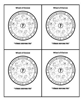 Wheel of Choices: Conflict Resolutions