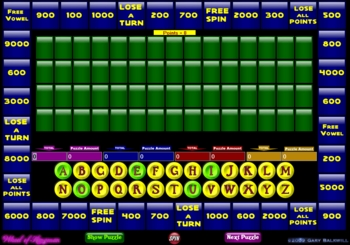 Wheel of Fortune Game Allows You to Create Your Own Puzzles