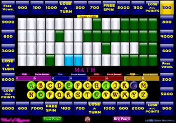 wheel of fortune game allows you to create your own puzzles by g