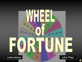Wheel of Fortune PowerPoint Game Show Templates