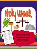 Holy Week Coloring