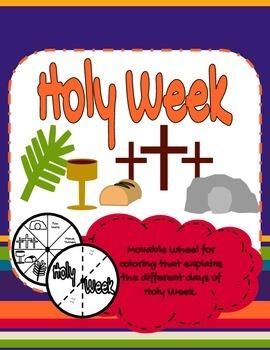 Wheel of Holy Week Days