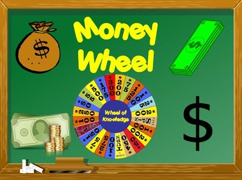 Money Wheel - Just like Wheel of Fortune: Playable PPT Game