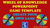 Wheel of Knowledge Powerpoint Game Template