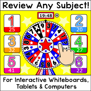 Quiz Review Game for Any Subject - Fun Back to School Activity Smartboard Game