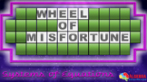 Systems of Linear Equations Review Game - Wheel of Misfortune
