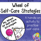 #counseling2020 Wheel of Self-Care Strategies