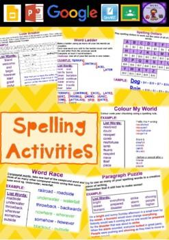 Wheel of Spelling Notebook