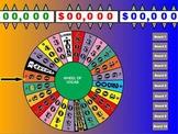 Wheel of Vocab (like Wheel of Fortune)