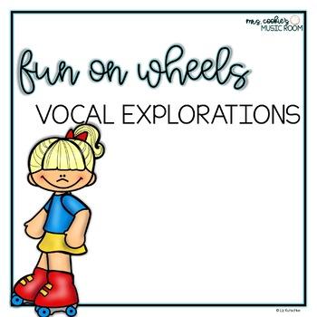 Wheel-y Fun Vocal Explorations: Wheel Activities Themed