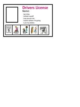 Wheelchair Drivers License