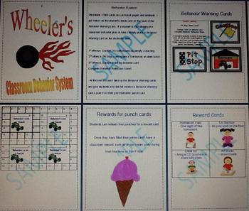 Wheeler's Classroom Behavior Management System