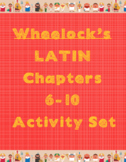 Wheelock's Latin Chapters 6-10 Homework and Activities (54
