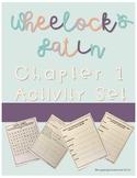 Wheelock's Latin Chapter 1 Activity Packet