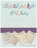 Wheelock's Latin Chapter 1 Activity Packet